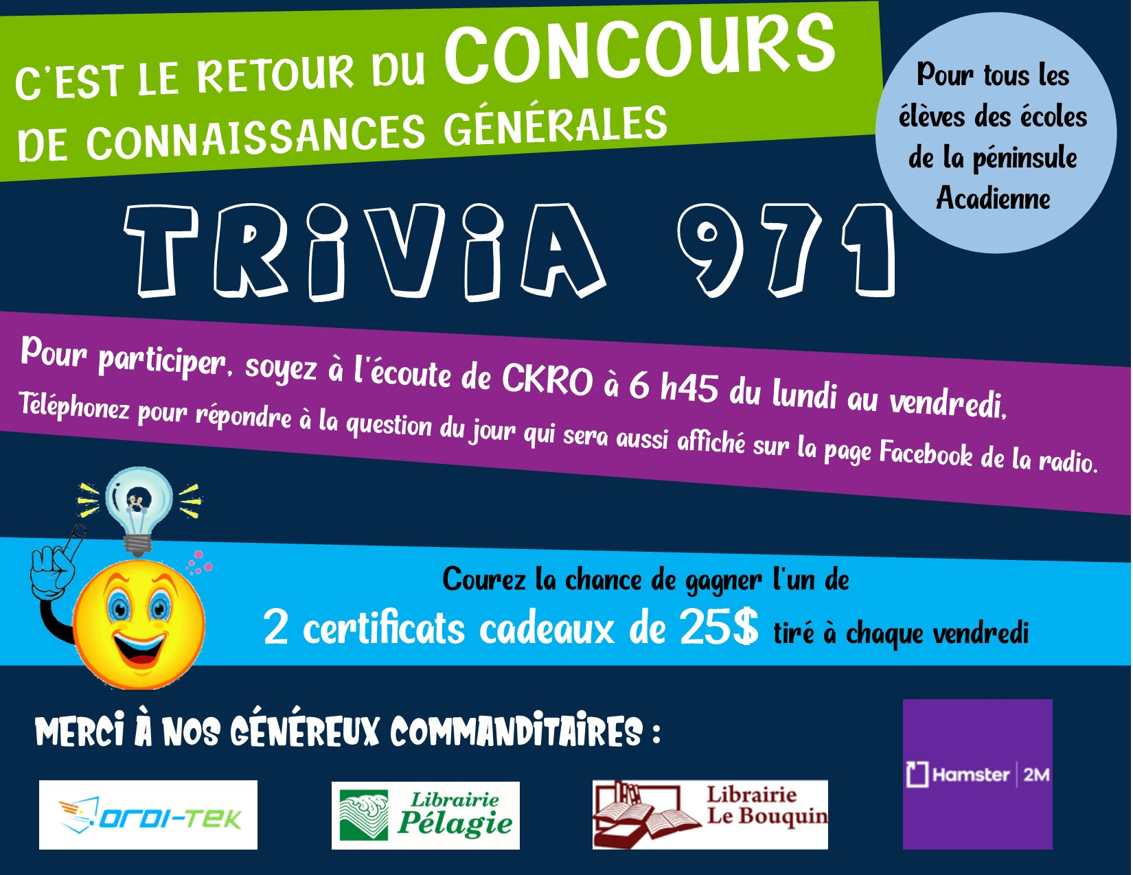 Concours Trivia 971 2020